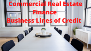 REAL ESTATE FINANCE – BUSINESS LINES – SBA – ABL